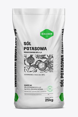 Sól potasowa granulowana 60% K2O